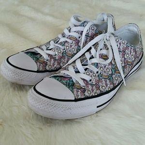 284589f5e58 Converse Shoes - Converse all star chuck taylor lo sugar skull